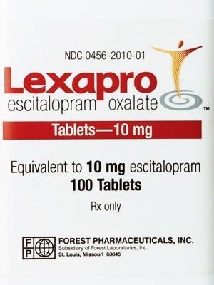 Lexapro equivalent